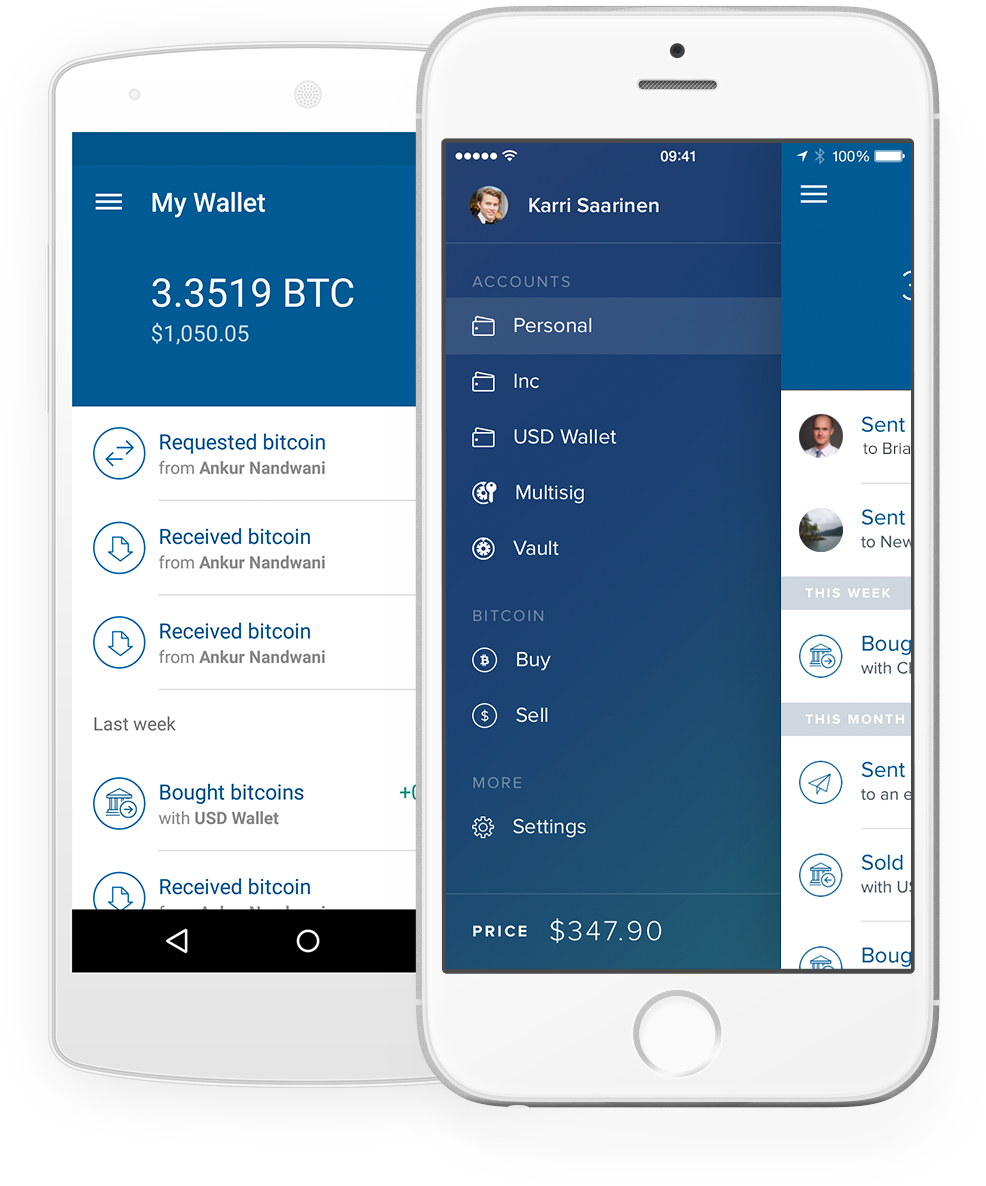 application mobile coinbase