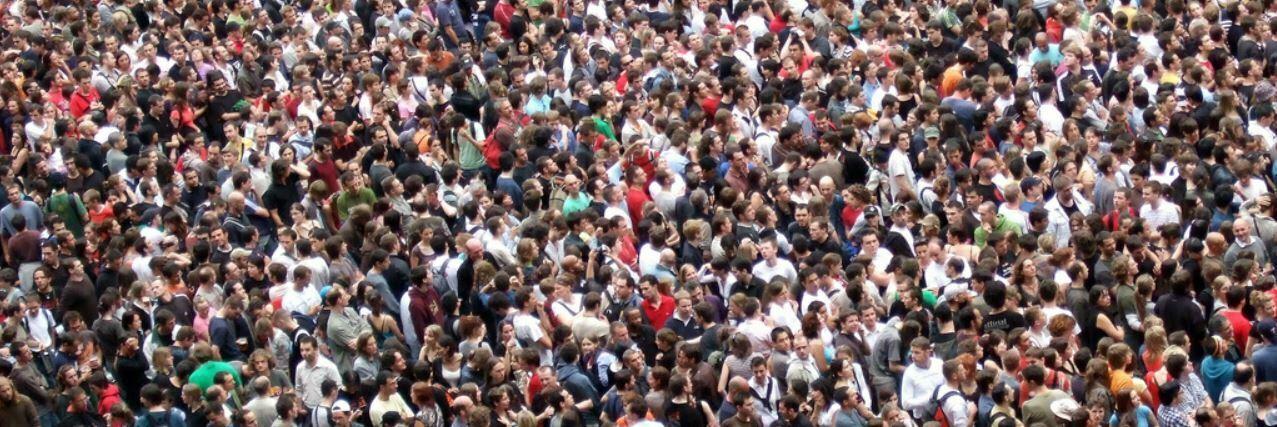 mouvement de foule dans le trading