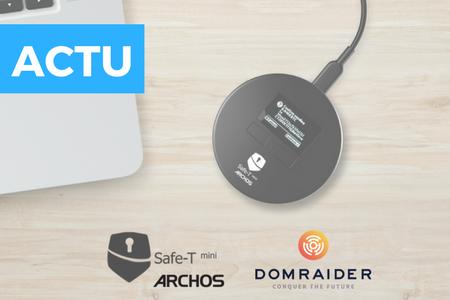 Archos va sortir un hardware wallet en partenariat avec DomRaider !