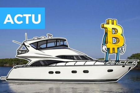 Une entreprise de vente de yachts accepte les paiements en crypto-monnaies