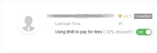 bouton on pour utiliser les bnb pour payer vos frais