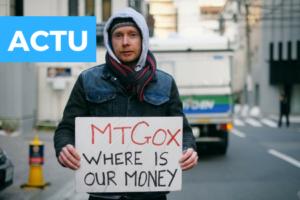Mise en vente des bitcoins de MtGox, le marché s'effondre !