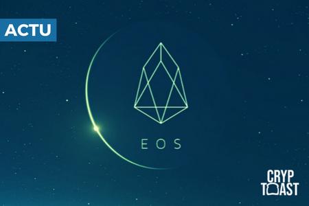 Crypto : EOS déménage, attire des investisseurs et démontre une croissance durable