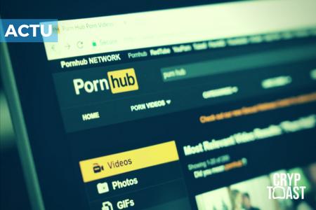 Pornhub acceptera les payements anonymes grâce à la cryptomonnaie Verge
