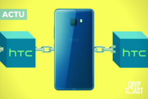 HTC a présenté le premier smartphone au monde avec la technologie blockchain «intégrée»