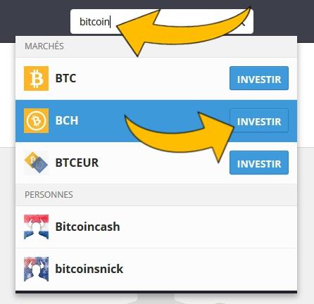 Montant minimum a convertir pour investir en bitcoin