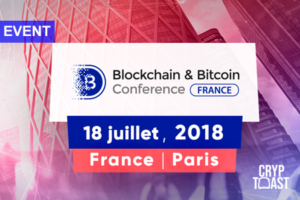Conference Blockchain & Bitcoin France - Paris - 18 Juillet 2018