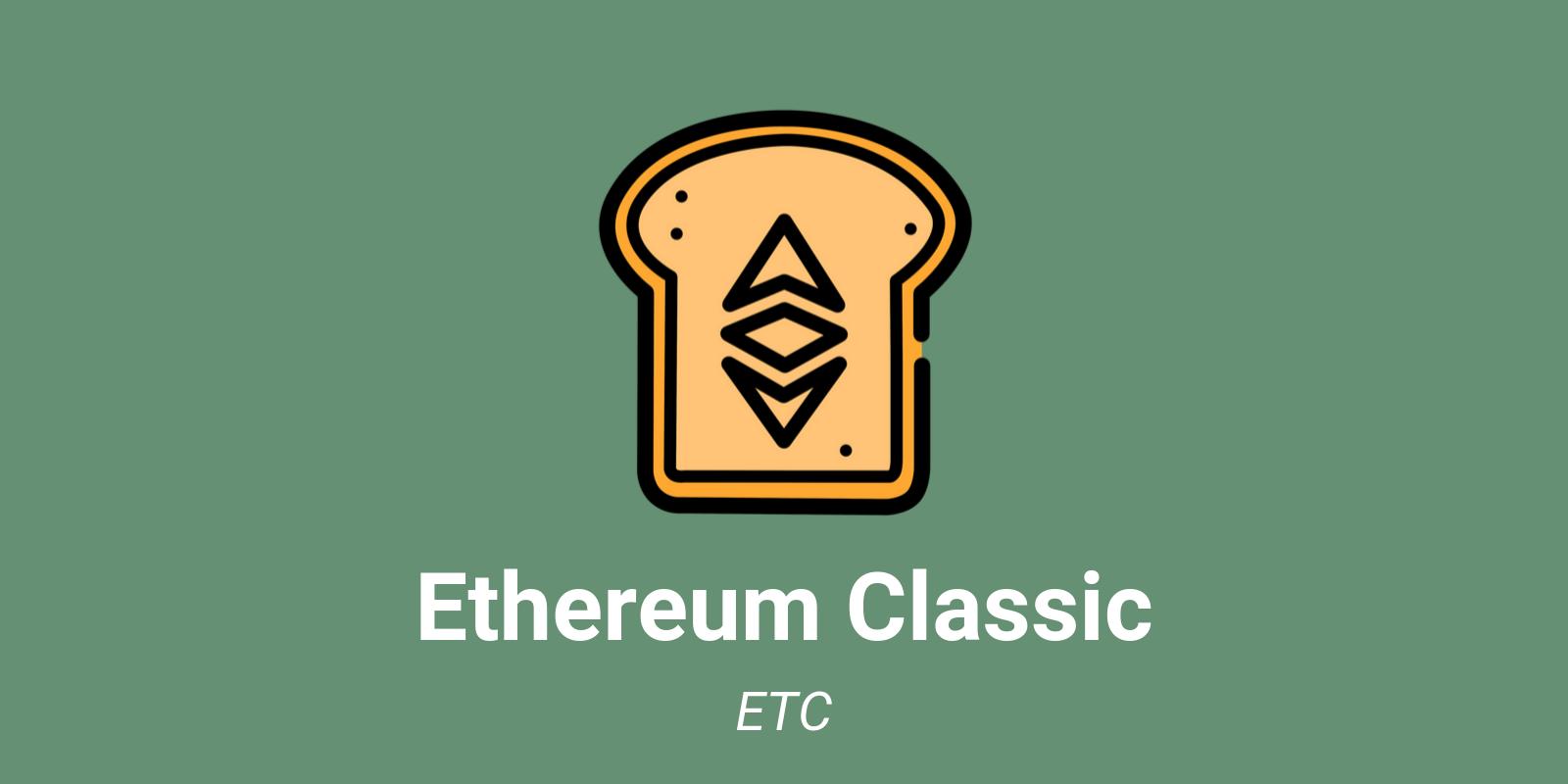 Crypto Ethereum Classic (ETC)