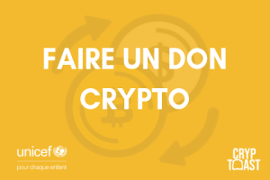 UNICEF - Comment faire un don en crypto-monnaies ?