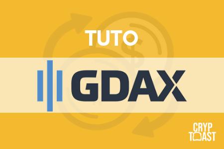 Tutoriel GDAX