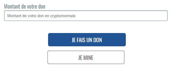 faire un don en cryptomonnaies à unicef