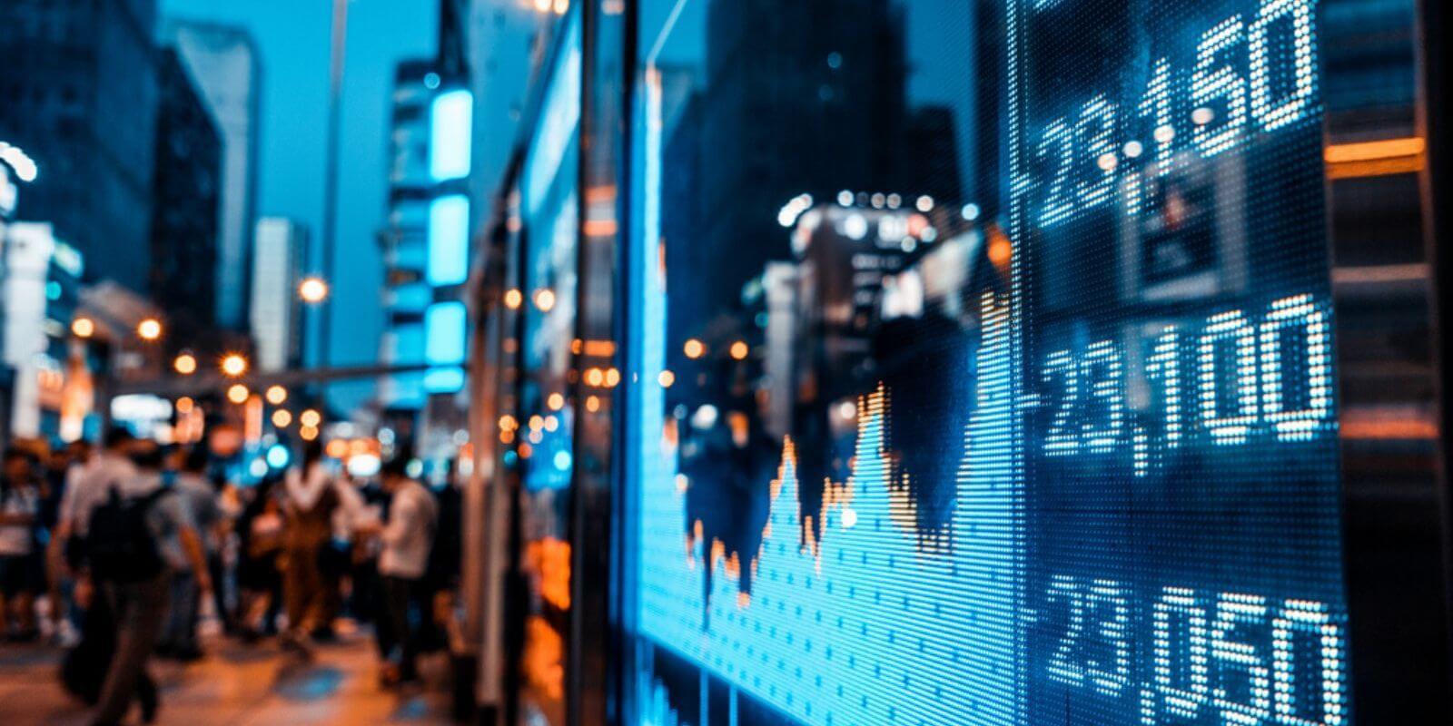 Comparaison entre la bourse et les crypto-monnaies