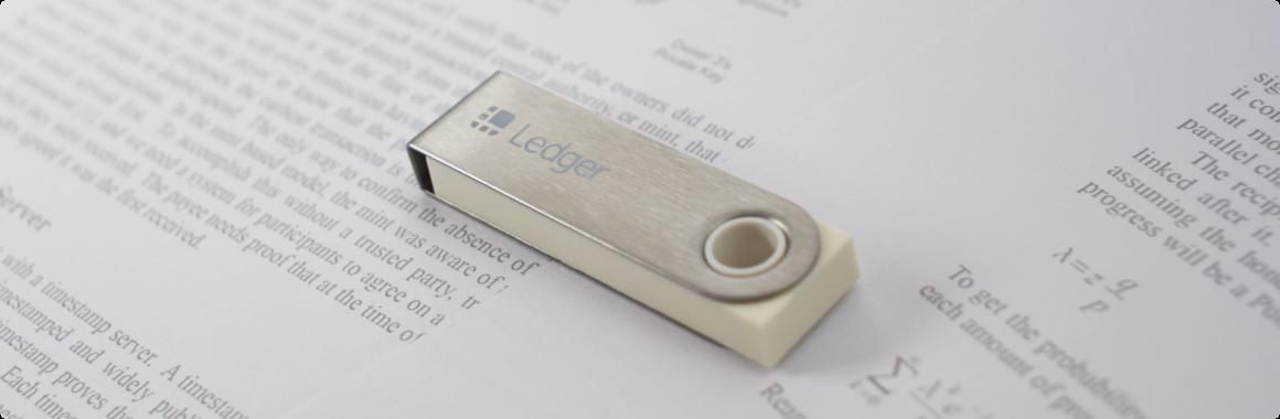 Ledger Nano S Edition Limitée - 10 ans du Bitcoin