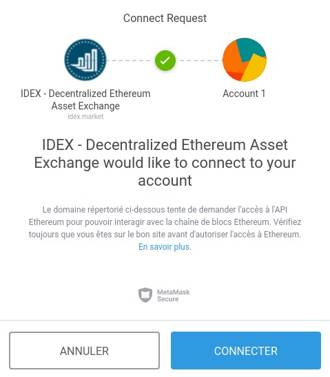 Pop-up IDEX