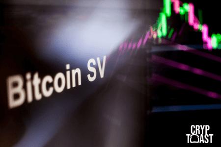Courbe du Bitcoin SV