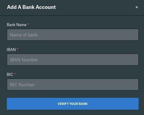 Ajouter un compte bancaire