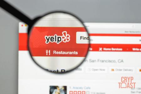 Yelp permet de chercher des commerces acceptant les crypto-monnaies