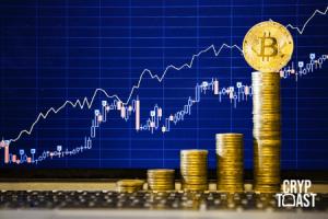 Croissance du Bitcoin BTC