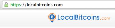 url du site localbitcoins pour éviter phishing
