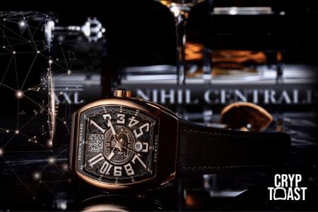 Frank Muller lance une montre de luxe qui cache un portefeuille Bitcoin (BTC)