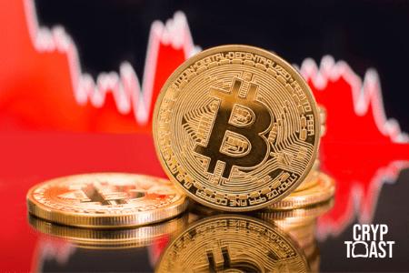 Le prix du Bitcoin chute en dessous de 8 000 dollars