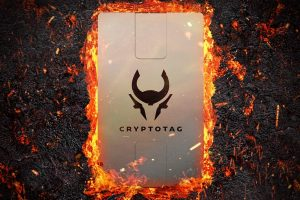 Cryptotag : gravez vos phrases de récupération sur du métal