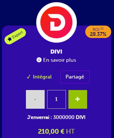 Masternode DIVI