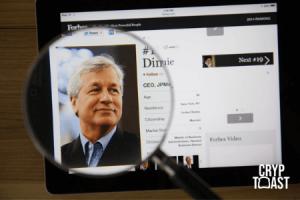 Le président de JPMorgan admet que les crypto-monnaies viennent concurrencer les banques