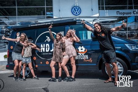La «famille Bitcoin» part à nouveau sur les routes