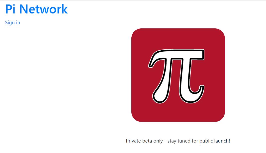 L'image de marque et le logo du projet Pi Coin