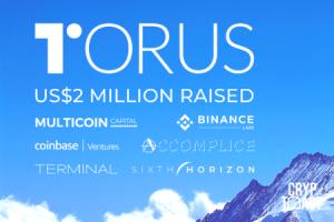 Torus, gestionnaire de clés privées, se fait financer par Binance