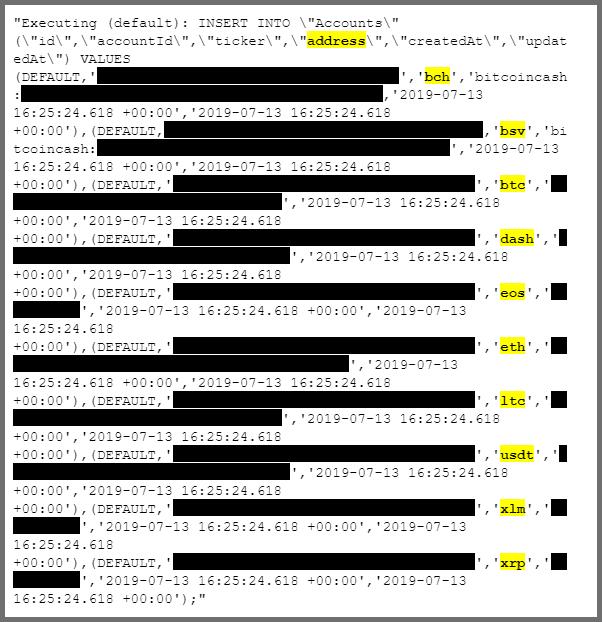 Leak données