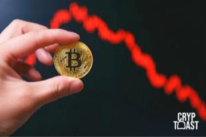 Le Bitcoin chute brutalement sous la barre des 10 000 $