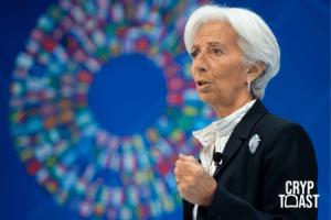 """Christine Lagarde : """"Nous devrions être ouverts aux cryptomonnaies"""""""