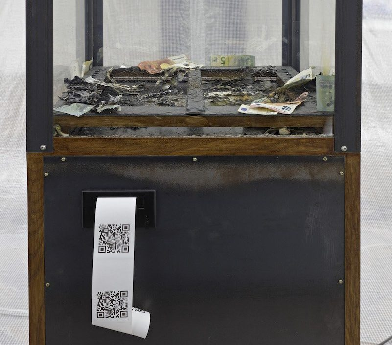 QRCode Chaos Machine