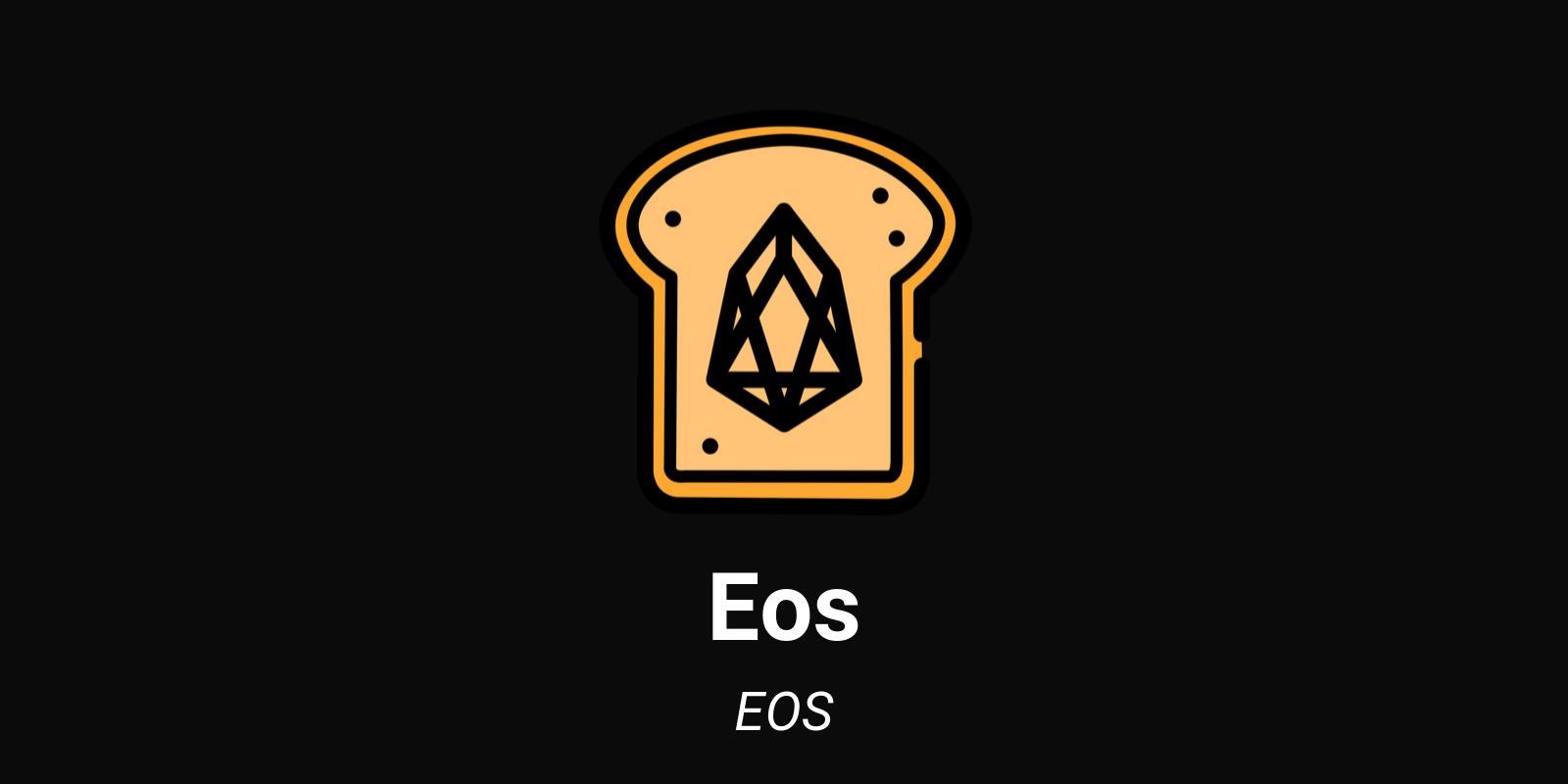 Crypto EOS