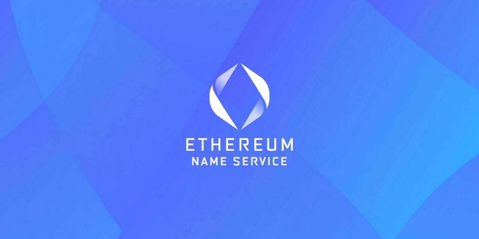 Qu'est-ce que Ethereum Name Service ?