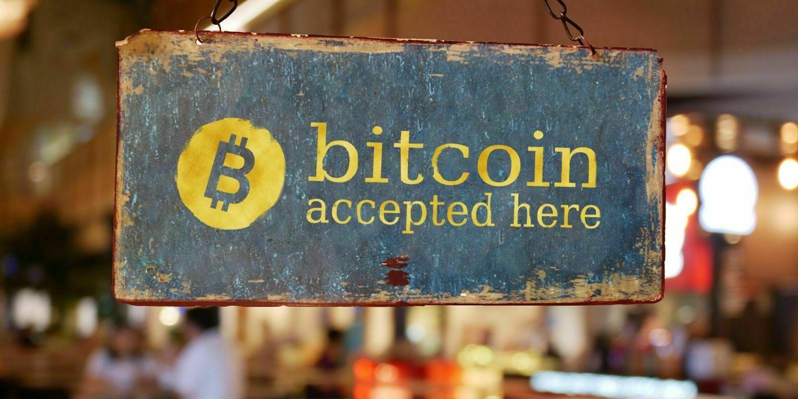 Bitcoin accepté dans cette boutique