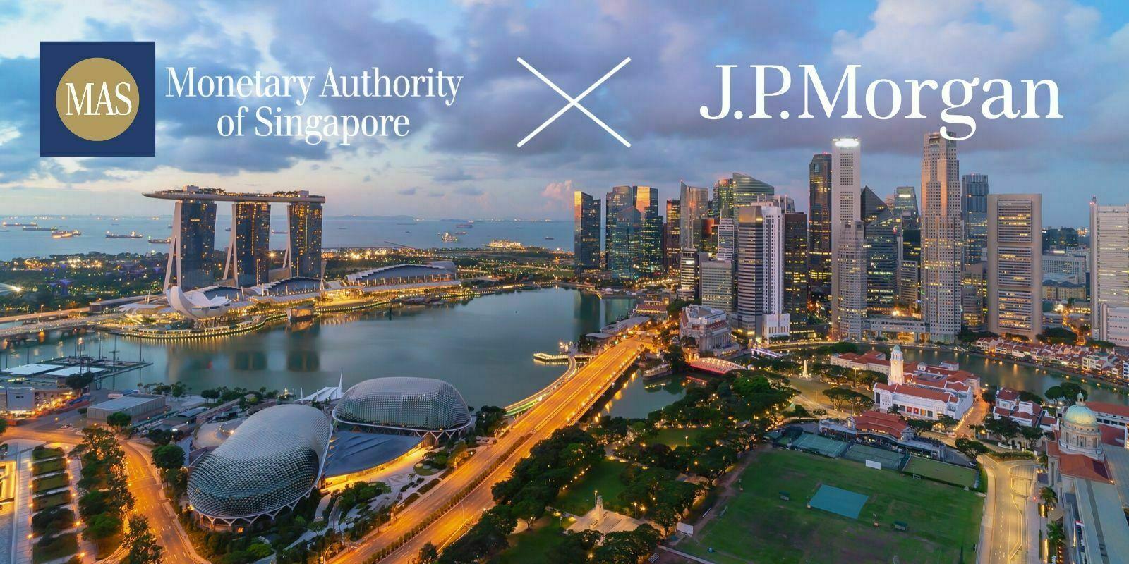 La banque centrale de Singapour et J.P. Morgan collaborent pour un réseau de paiements transfrontaliers basé sur la blockchain