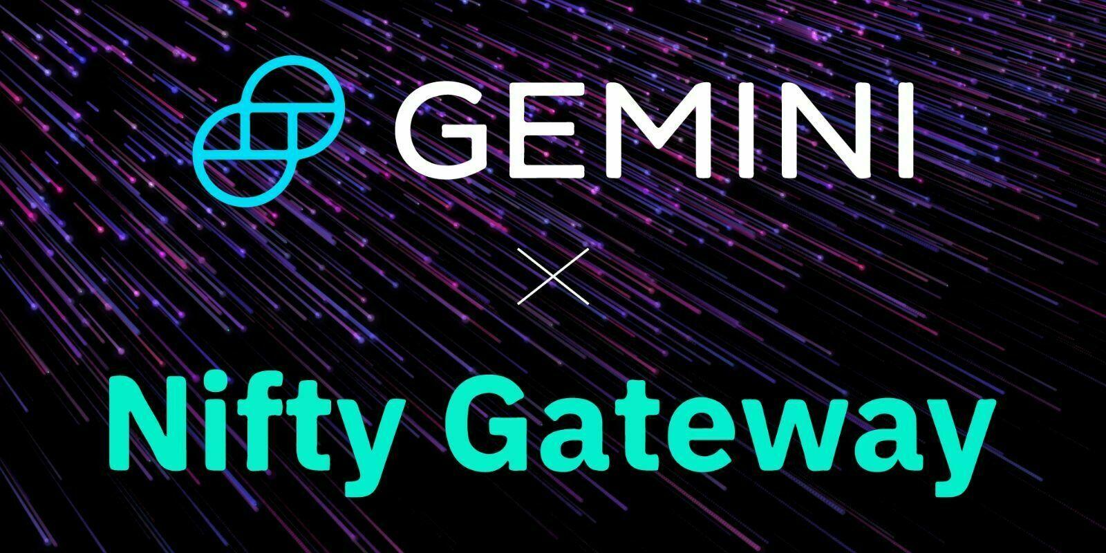 Gemini fait l'acquisition de la plateforme de NFT Nifty Gateway