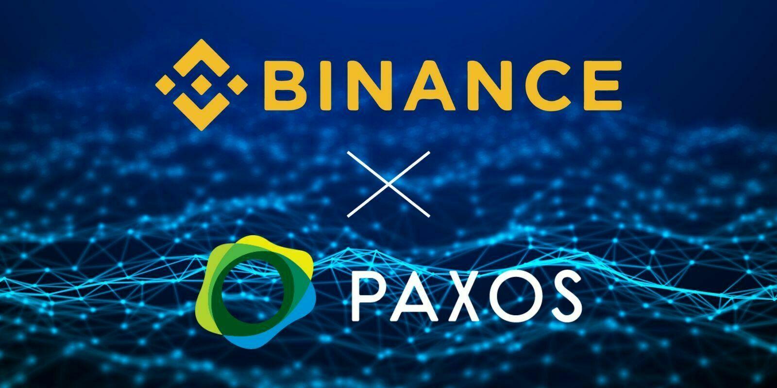 Binance devient le premier client de la passerelle fiat/stablecoins de Paxos