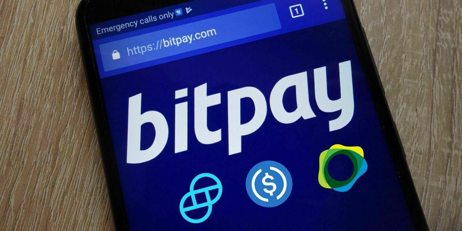 BitPay supporte maintenant les paiements avec 3 stablecoins : USDC, GUSD et PAX