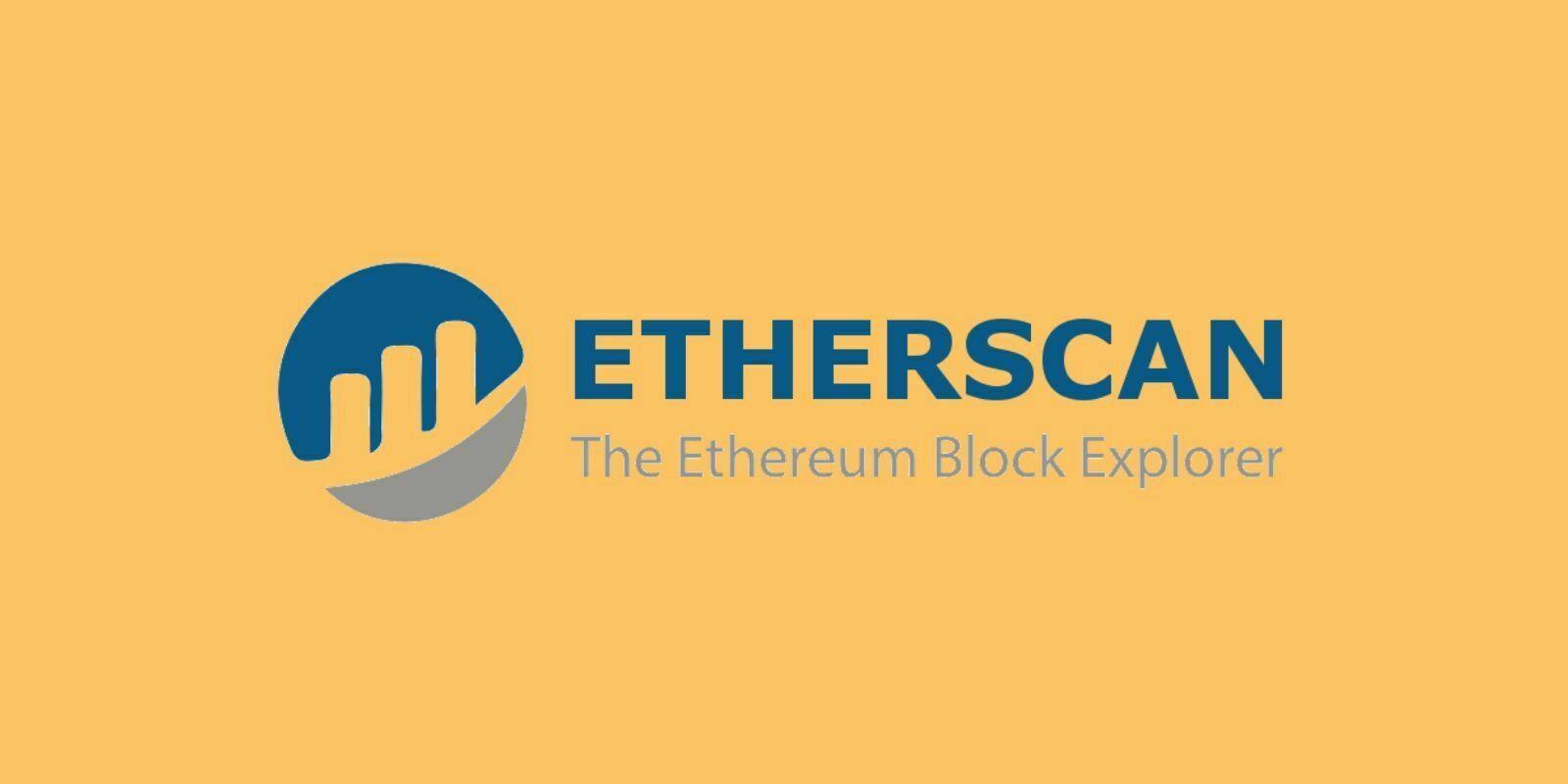Tutoriel EtherScan