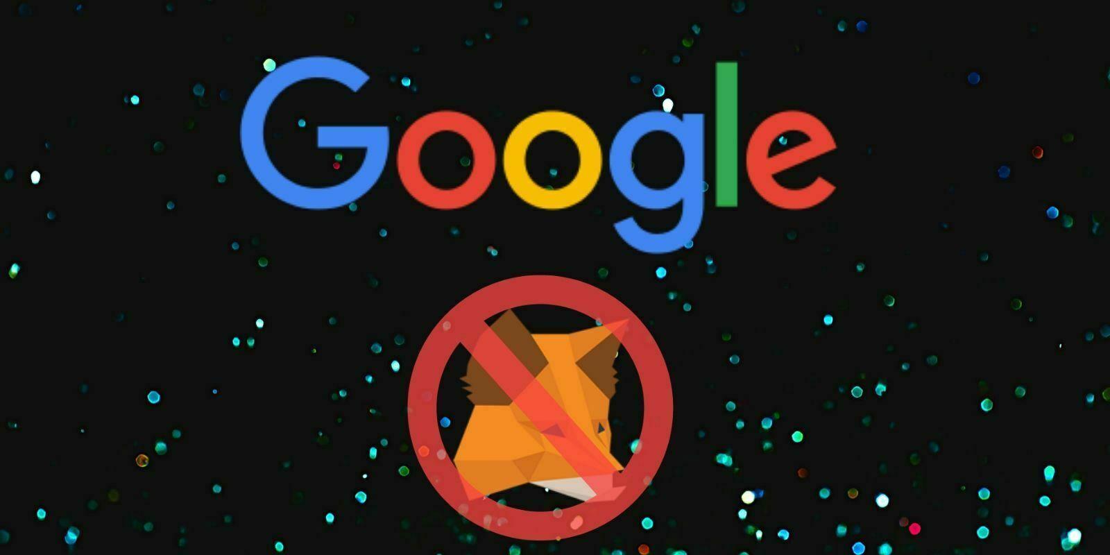 Google retire soudainement le wallet MetaMask du Play Store