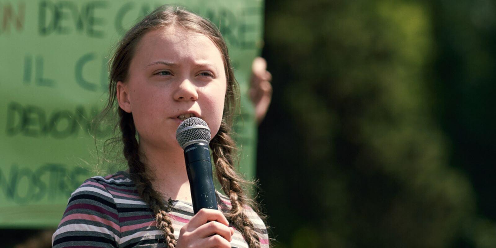 Justin Sun fait un don d'un million de dollars à Greta Thunberg