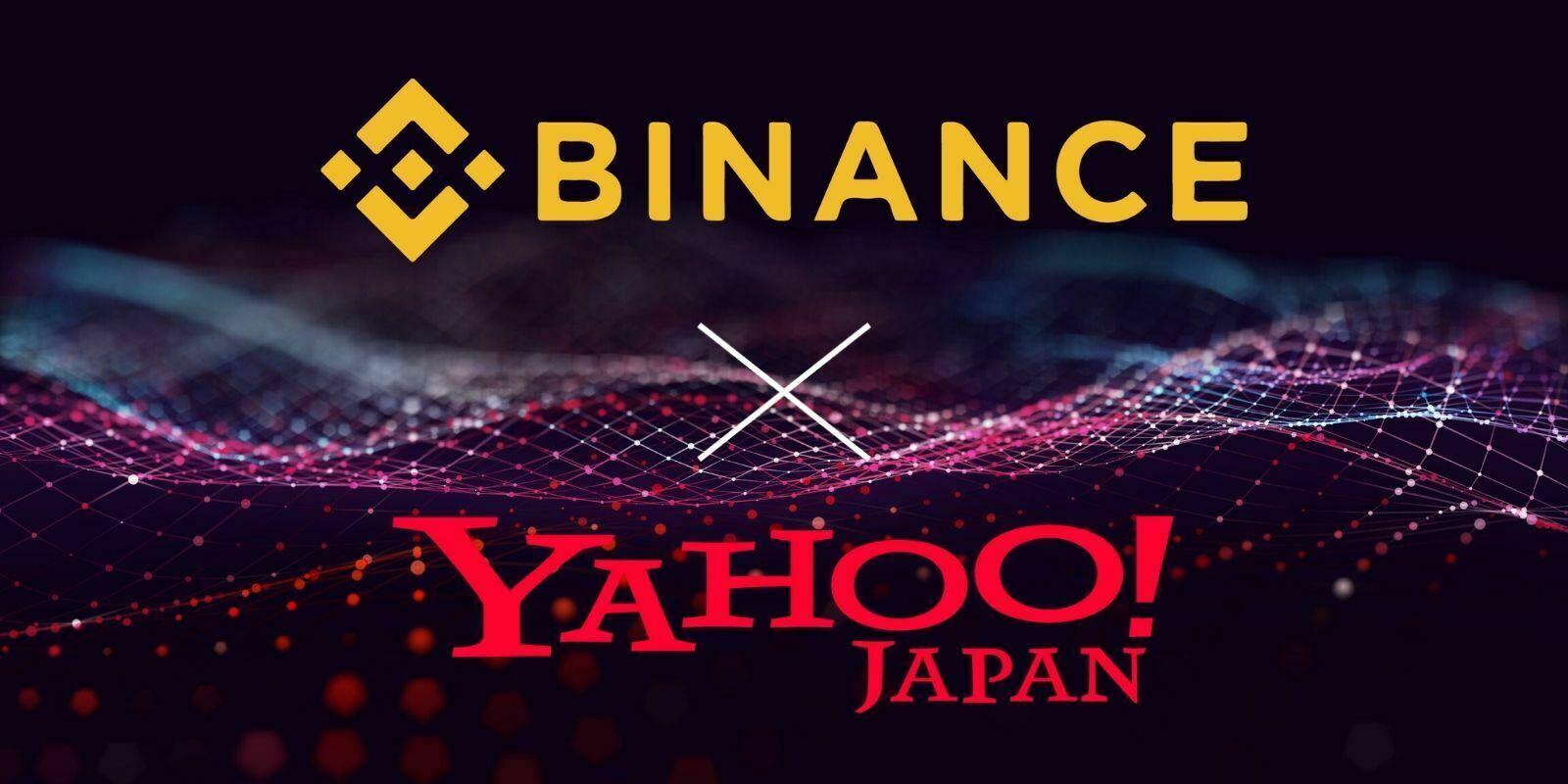 Binance s'associe à Yahoo! Japan pour conquérir le marché japonais