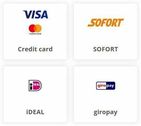 bitFlyer - Choix moyen de paiement