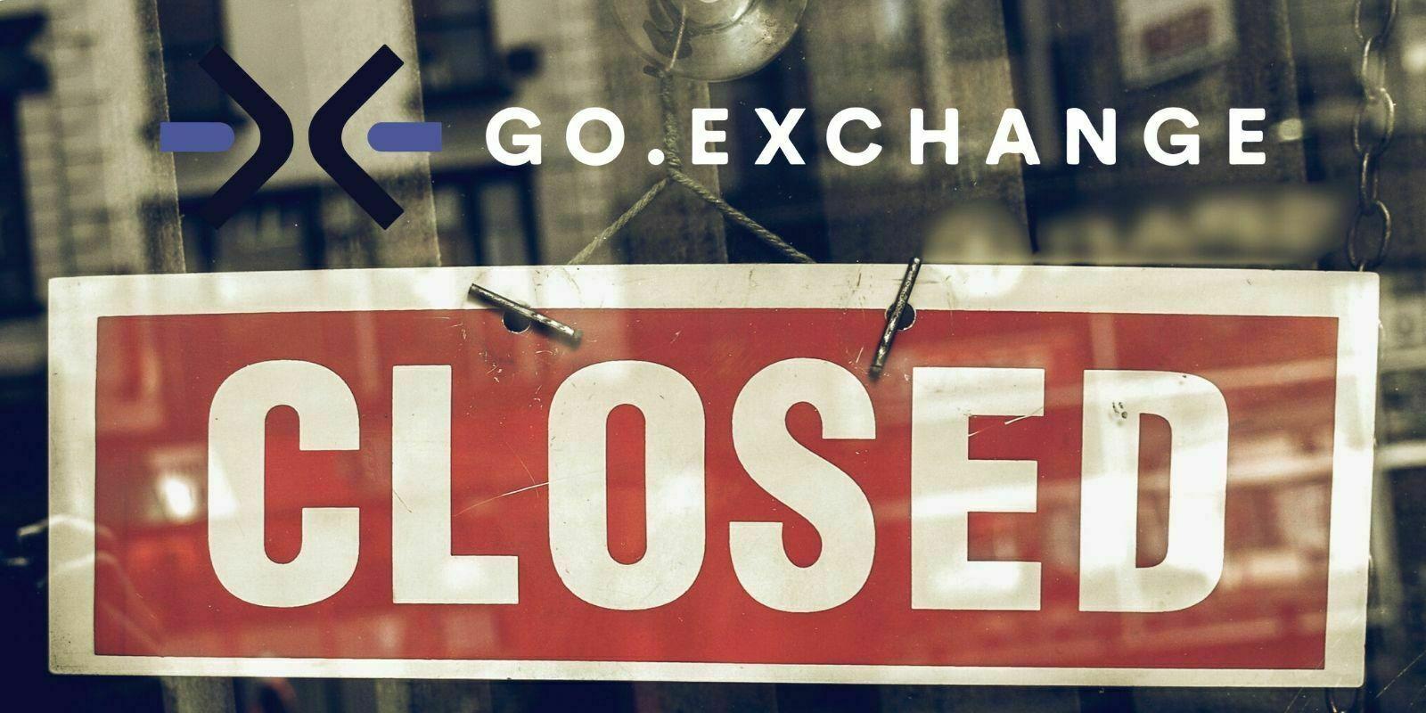 La plateforme GO.Exchange d'Omise Holdings met fin à ses activités