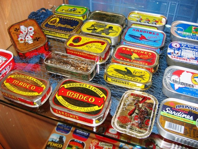 MY Sardines collection