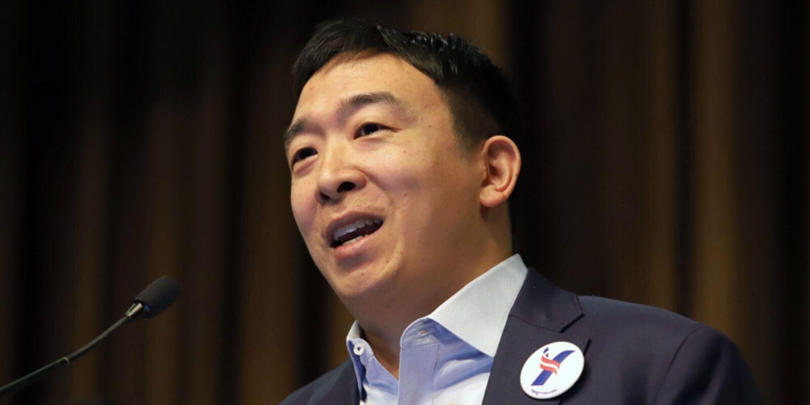Le candidat pro-cryptos Andrew Yang se retire de la primaire démocrate aux USA
